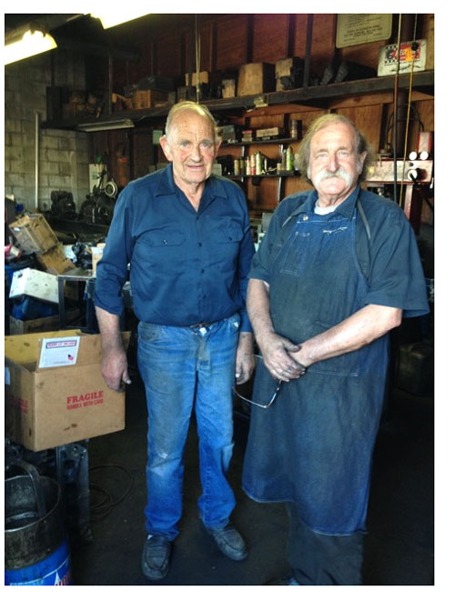 Auto machinists Fred and Ken Marty the best