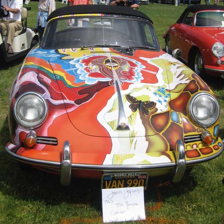 Janis Joplins Porsche 1