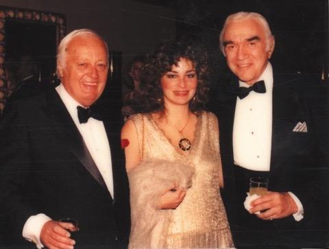Jim Bacon and Lorne Greene