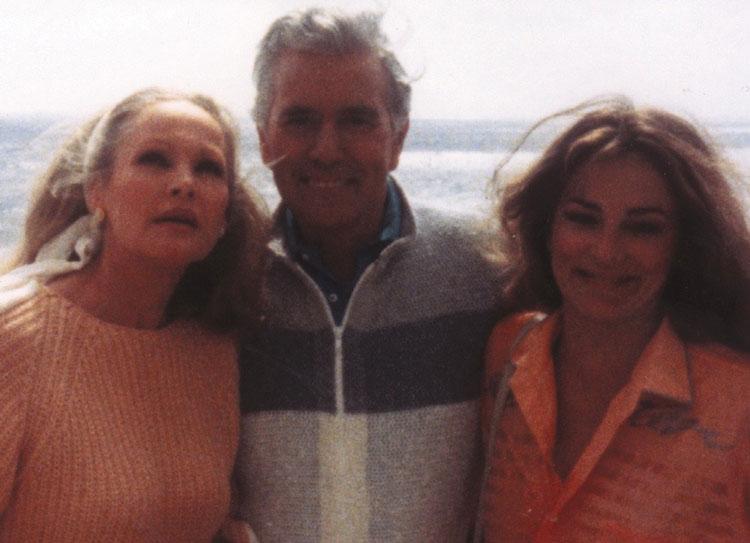 John Forsythe and Ursula Andress