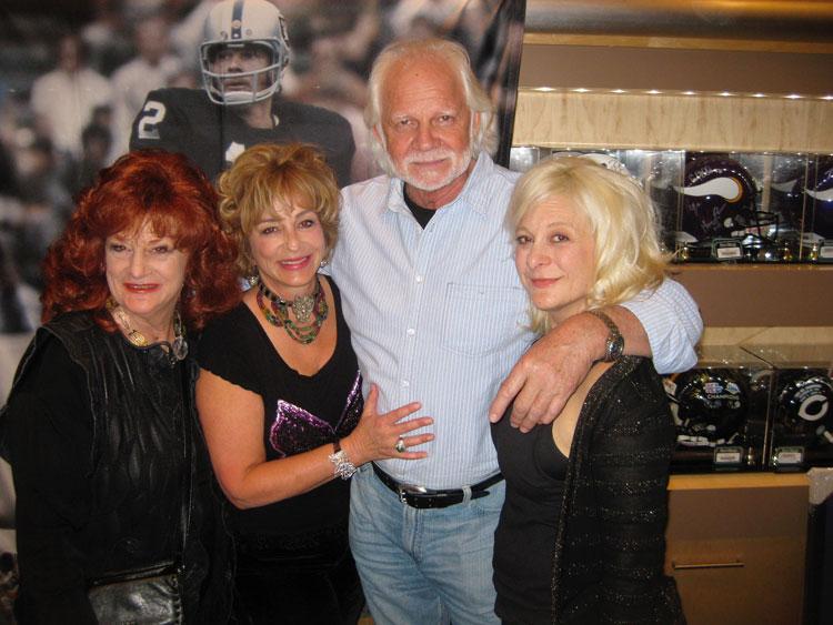 Pat and Tamara Brown and Ken Stabler
