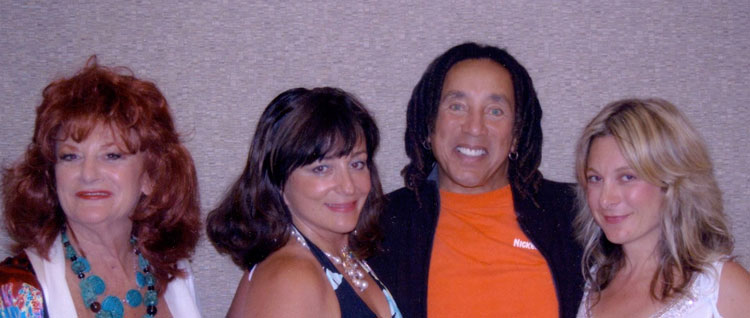 Pat and Tamara with Smokey