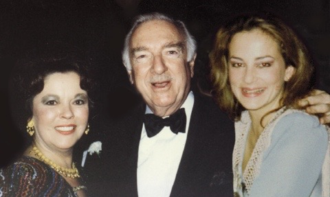 Walter Cronkite and Shirley Temple Black